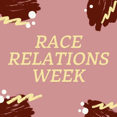 Race Relations Week to take place September 20 through September 27