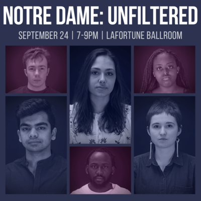 Notre Dame: Unfiltered to take place September 24