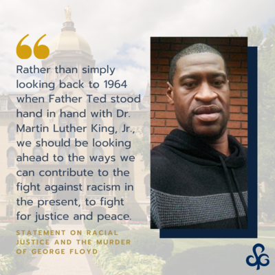 Statement on Racial Justice and the Murder of George Floyd